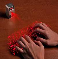Photo of معرض CES 2013: لوحة مفاتيح تعمل بالليزر تصل الى الايفون