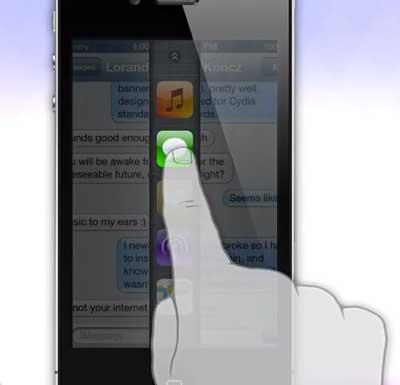 تصور جديد لمنظومة تعدد المهام في الايفون - فكرة تستحق الاهتمام