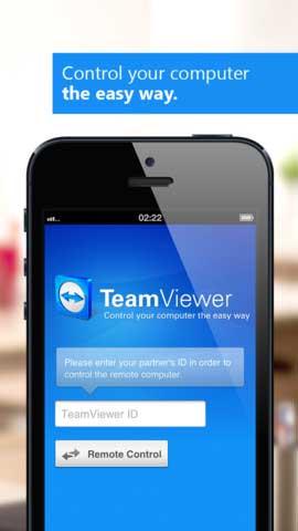 تطبيق TeamViewer