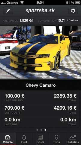 تطبيق Car Consumption