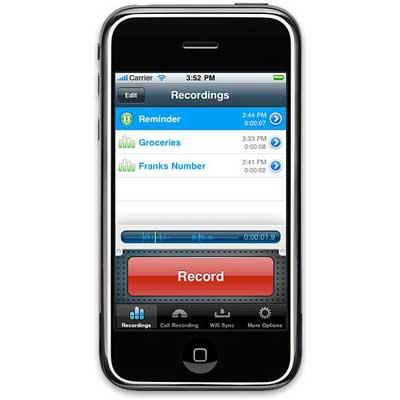 قريبا في السيديا: تسجيل المكالمات الهاتفية على ذاكرة الجهاز