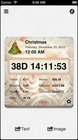 تطبيق Countdown++