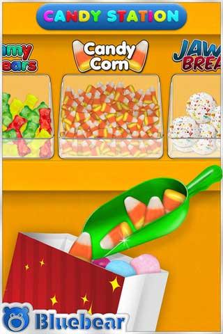 لعبة مجانية لصنع الحلوى: Pik n Mix