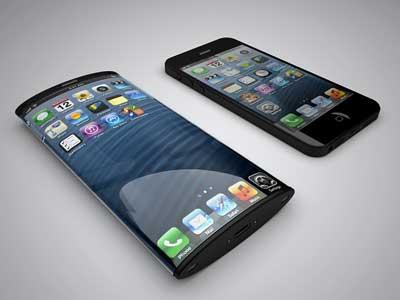 تصور: الايفون وفق براءة اختراع ابل لشاشة ملتفة الجوانب