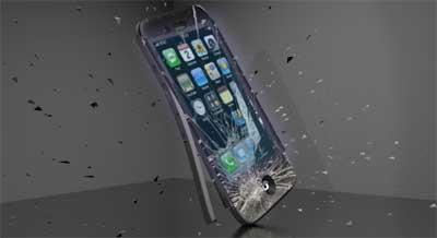 محاولة تهشيم الايفون 5 بواسطة المثقاب الكهربائي