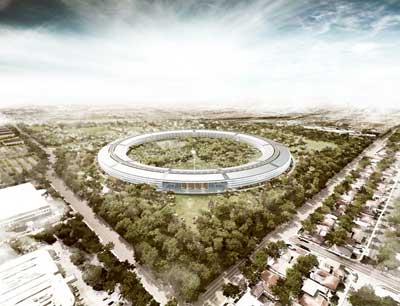 المقر الجديد لشركة ابل: زيادة التكلفة 2 مليار دولار