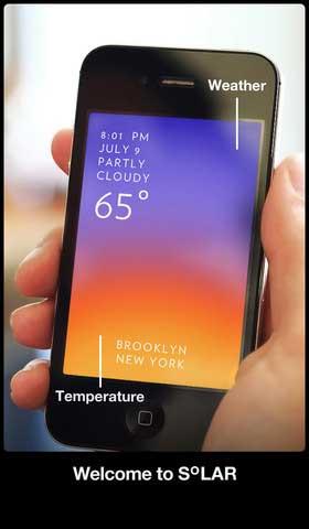 تطبيق Solar Weather