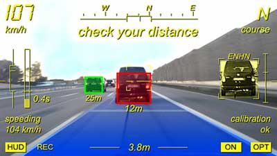 تطبيق Augmented Driving