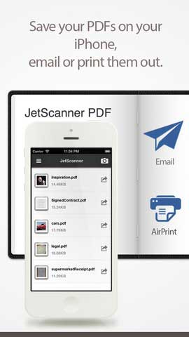 تطبيق JetScanner