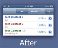 السيديا: Prime - اداة تعرض سجل المكالمات بشكل اوضح