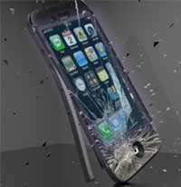 صورة بالفيديو: محاولة تهشيم الايفون 5 بواسطة المثقاب الكهربائي