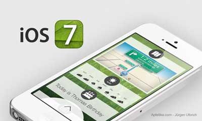تصور جديد للإصدار السابع من نظام iOS من ابل