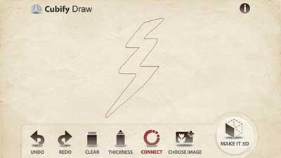 تطبيق Cubify Draw