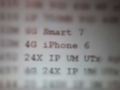 Rumor: leaked image of the network stands next to the name of the iPhone