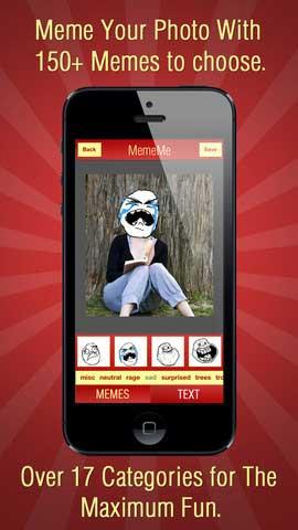 تطبيق MemeMe