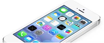 صورة من نظام IOS 7
