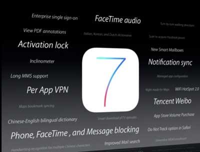 الاصدار iOS 7 يتيح اجراء مكالمة صوتية عبر Face Time بدون فيديو