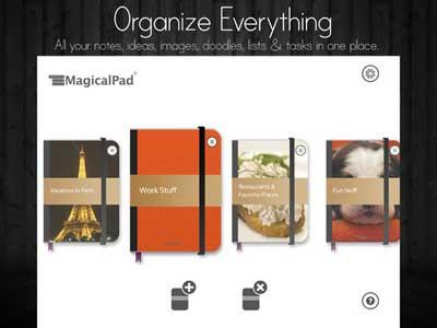 تطبيق MagicalPad