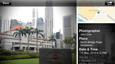 تطبيق Map Camera