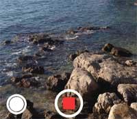صورة تصوير الفيديو في نسخة iOS 7 : ما نراه من هنا نراه من هناك!