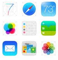 Photo of خطأ مقصود؟ iOS 7 ايقونات مختلفة في في موقع ابل وبالاجهزة!