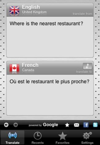 تطبيق Interpret للترجمة الفورية