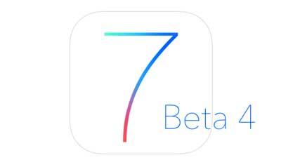 آبل تطلق النسخة التجريبية الرابعة من iOS 7