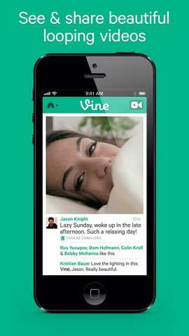 تطبيق Vine