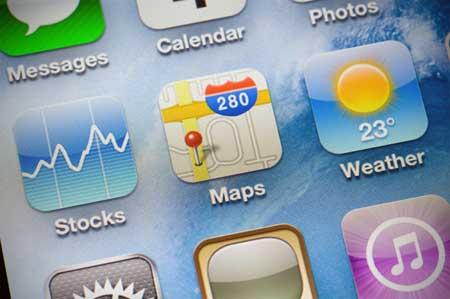 براءة اختراع تضيف مزايا جديدة لتطبيق آبل للخرائط