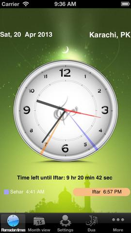 تطبيق Ramadan Times
