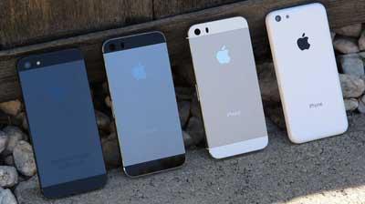 iPhone 5S سيأتي باللون الجرافيتي