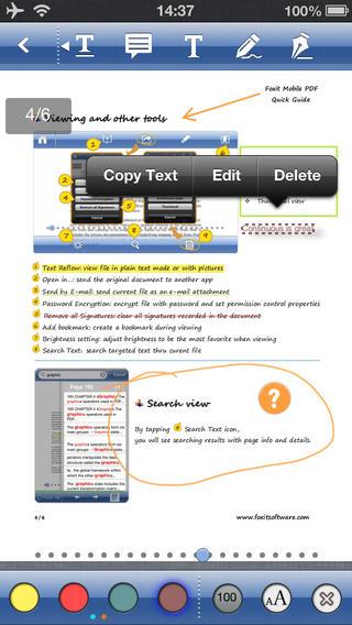 تطبيق Foxit Mobile PDF