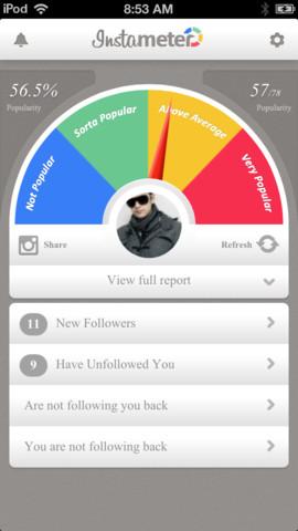 تطبيق Instameter