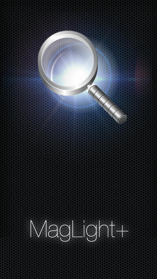 تطبيق MagLight+ Magnifying Glass Flashlight