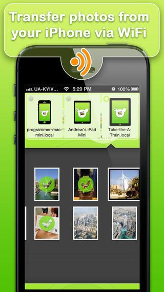 تطبيق Photo Transfer WiFi