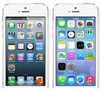 استطلاع : 74% من المستخدمين يفضلون استخدام نظام iOS 7