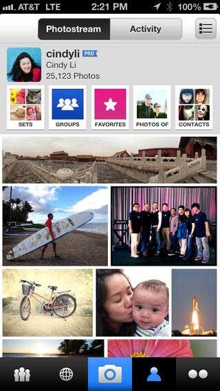 إطلاق تحديث جديد لتطبيق فليكر Flickr بفلاتر و أدوات جديدة !