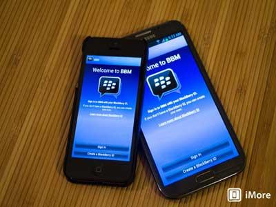 تطبيق بلاكبيري ماسنجر BBM سيتوفر للآيفون مجاناً الأحد المقبل !