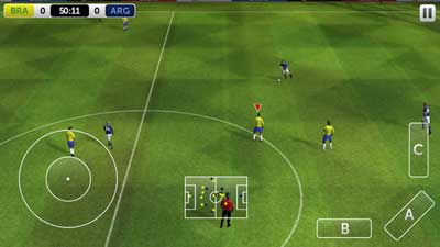 لعبة First Touch Soccer 2014