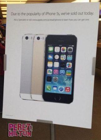 إطلاق هاتف ايفون 5 اس في عدد من الدول وسط إقبال كثيف [تقرير مصور]