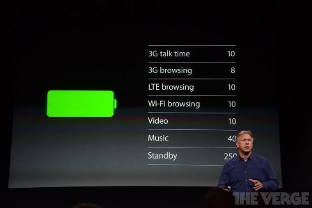عمر بطارية هاتف iPhone 5S