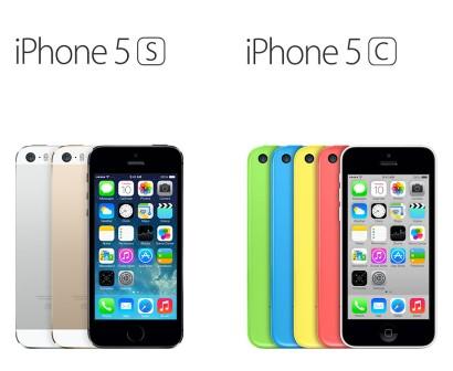 مقارنة بين iPhone 5S و iPhone 5C