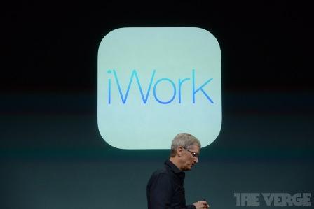تطبيق iWork أصبح مجانيا