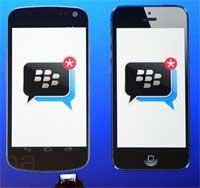 تطبيق بلاكبيري ماسنجر BBM يصل متجر الآيتونز بانتظار موافقة آبل !