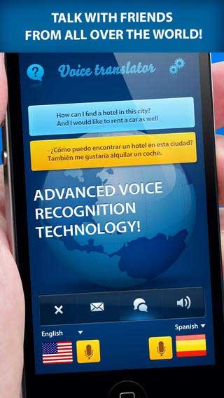 تطبيق Voice Translator