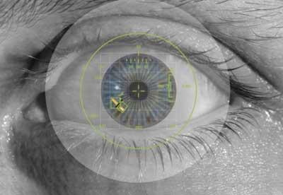اذا كان للايفون 5 اس مستشعر البصمة ، سامسونج اس 5 سيتعرف على عين المستخدم