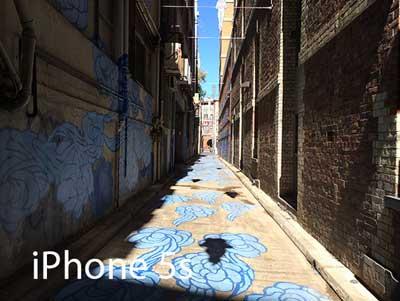 صورة عبر الايفون 5 اس