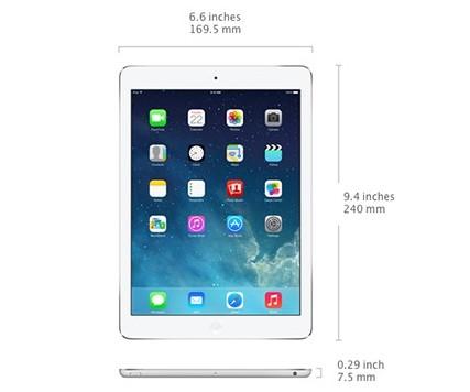 الآيباد آير iPad Air : المواصفات الكاملة ، السعر ، و كل ما تريد معرفته !