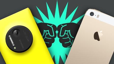 اختبار الكاميرا : iPhone 5s ضد Nokia Lumia 1020 !