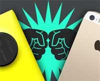 اختبار الكاميرا : iPhone 5s ضد Nokia Lumia 1020K، أيهما الافضل !